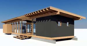 case modulare lemn