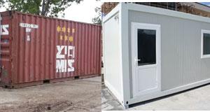 Containere pentru santier