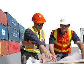 Containere depozitare maritime