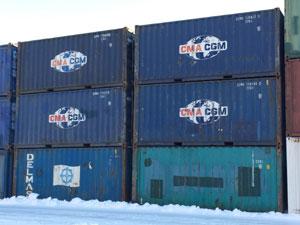Containere depozitare Romania tip maritime
