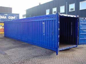 Containere open top maritime