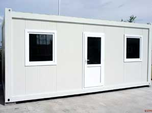 Containere dormitor izolate Estpoint