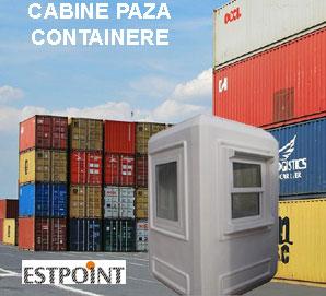 Cabine paza si containere Estpoint