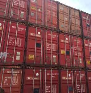 Containere maritime depozitare marfa