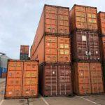 Containere maritime utilizate pentru depozitare